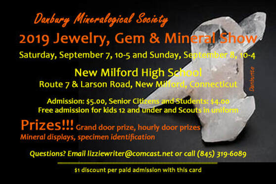 Annual Club Show - The Danbury Mineralogical Society